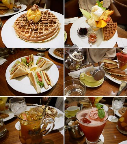 Melange Cafe 中山本店(米朗琪咖啡館):ごちそう