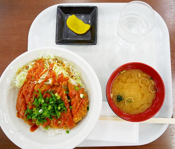東松山みそカツ丼:朝からカツを食べちゃうちゃたろうであった