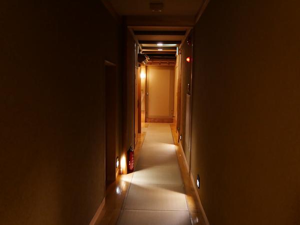 千曲乃湯しげの家 二階の廊下