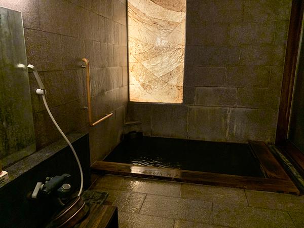 千曲乃湯しげの家 貸切風呂「霞の湯」チェックイン後に予約するスタイル