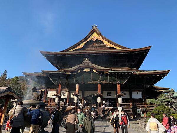 長野市 善光寺 本堂